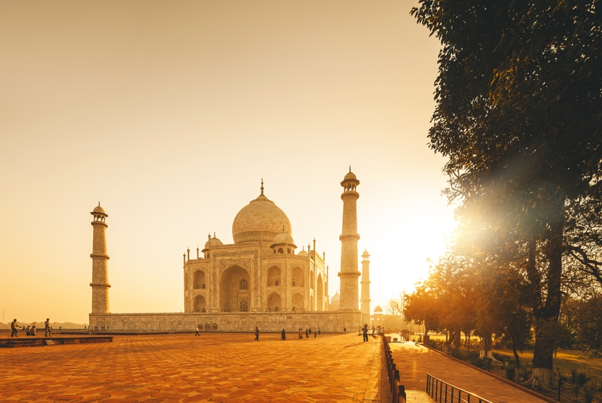 Taj Mahal Pictures Scenic Travel Photos: Top 10 Sunset Locations In The World