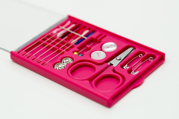 Have a rip or tear? Ask for a sewing kit!
