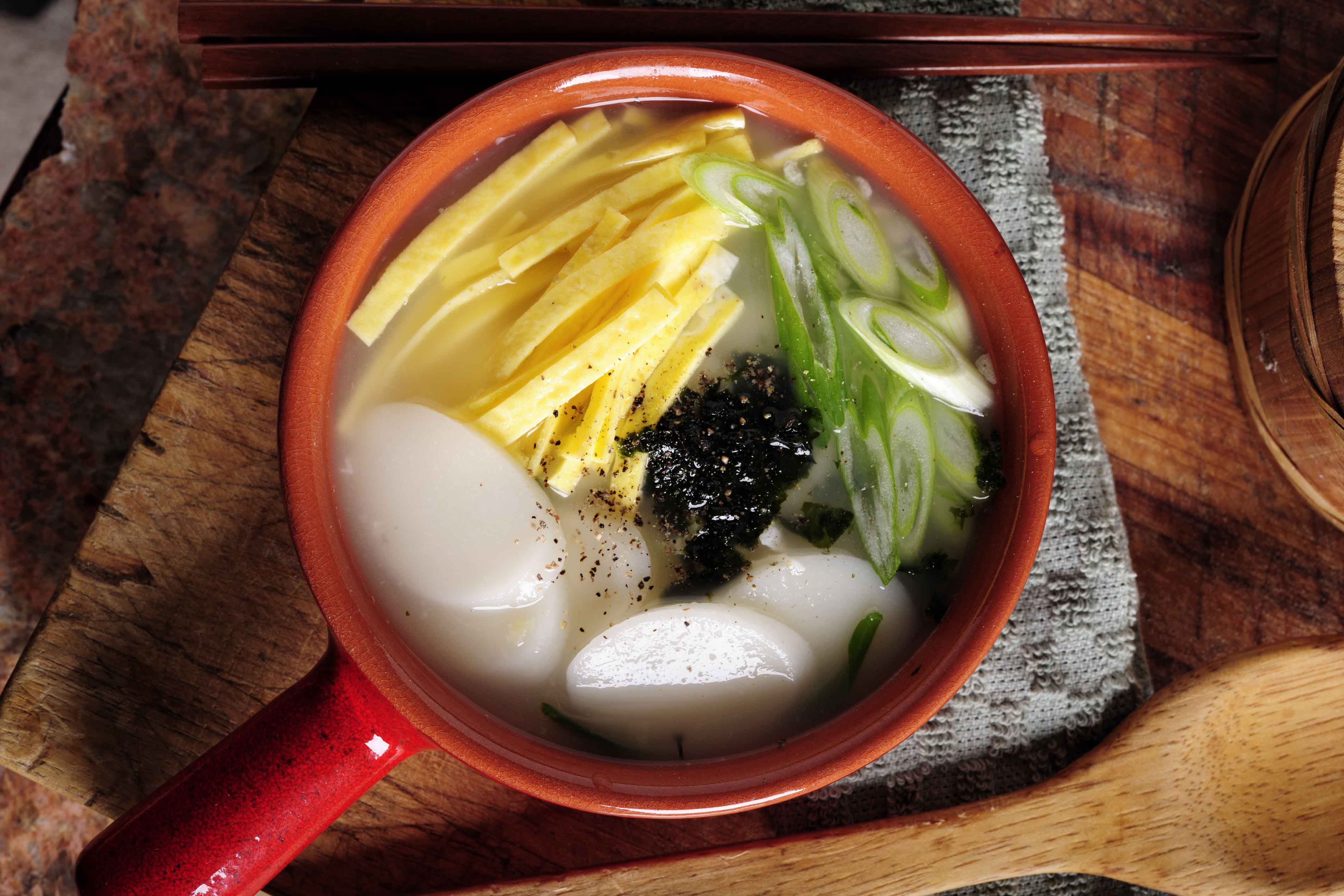 Tteokguk, Rice Cake, Chinese New Year Dish, Lunar New Year Dish