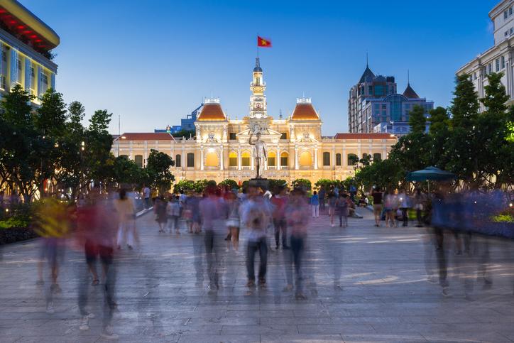 A trip to Ho Chi Minh Square