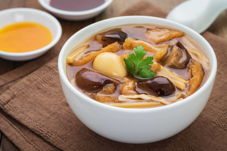 Braised Fish Maw, Chinese New Year Dish, Lunar New Year Dish