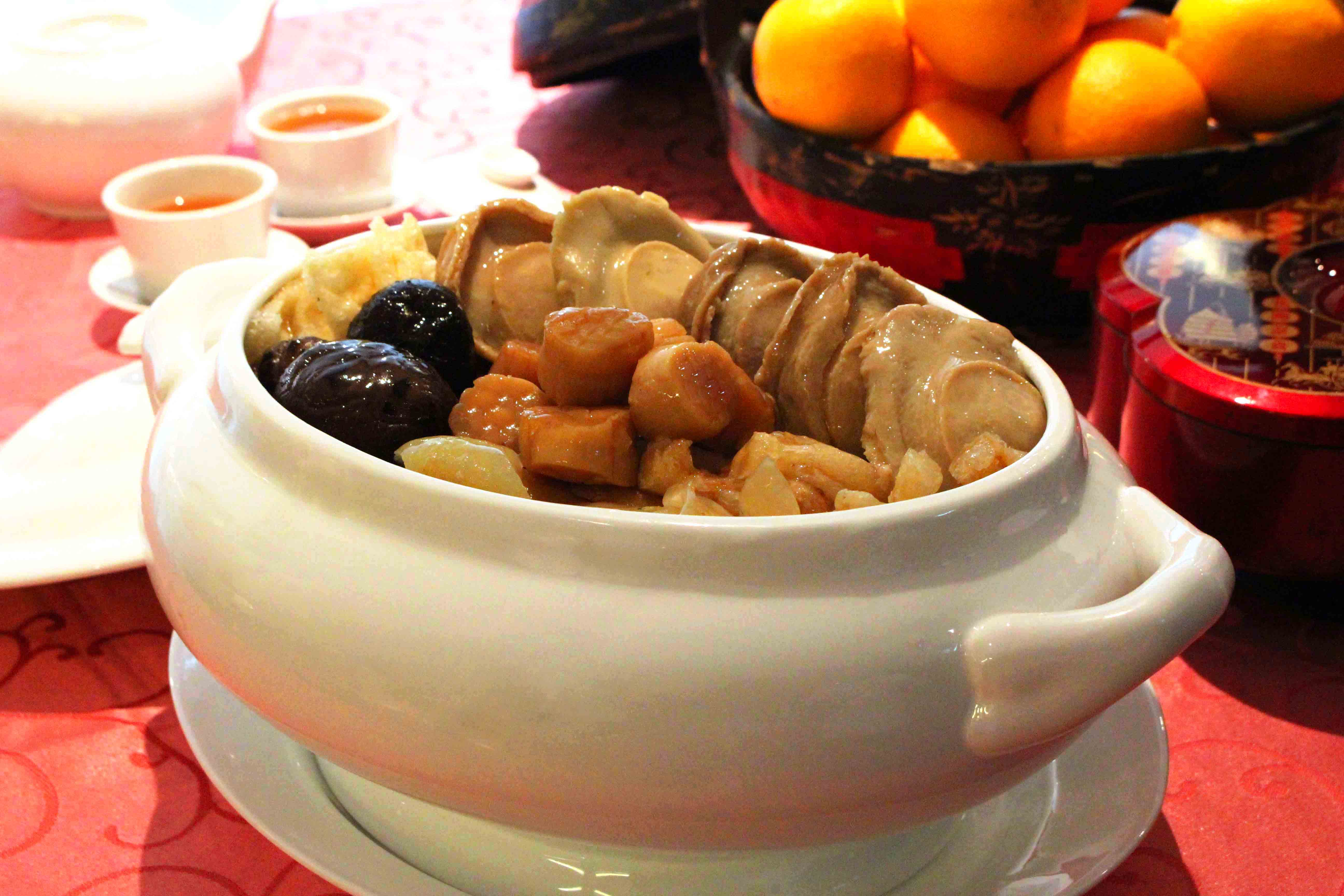 Buddha Jumps Over The Wall, Chinese New Year Dish, Lunar New Year Dish