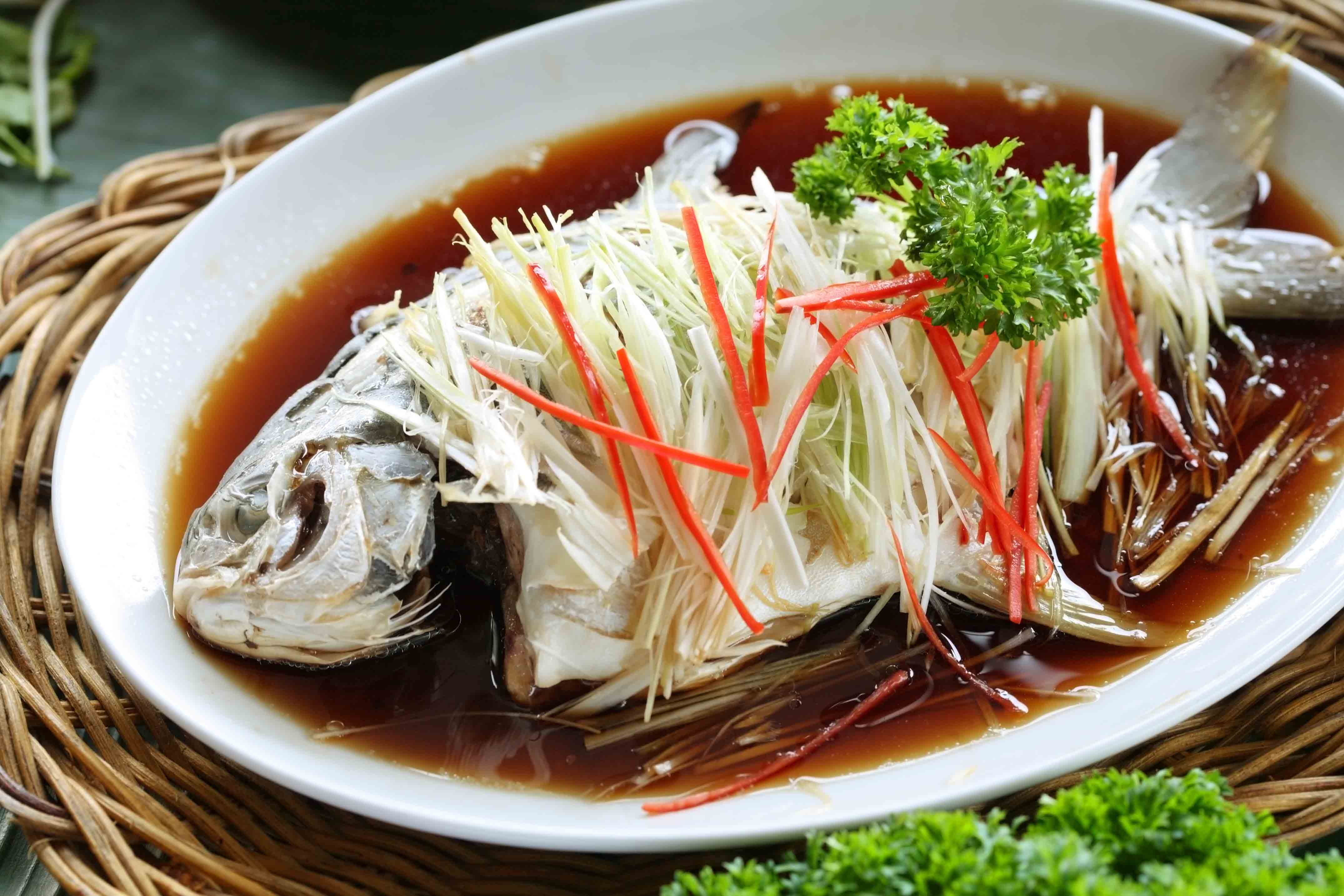Pomfret, Chinese New Year Dish, Lunar New Year Dish