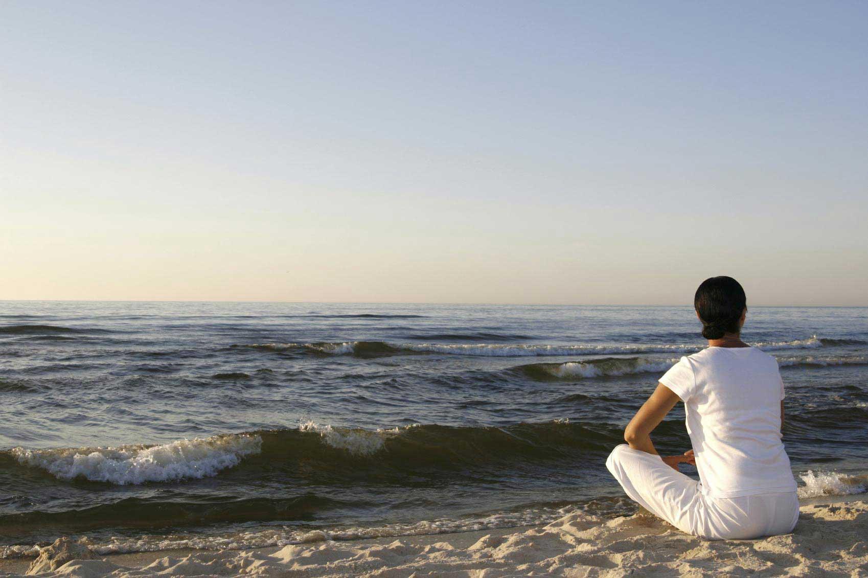 Am Strand entspannen