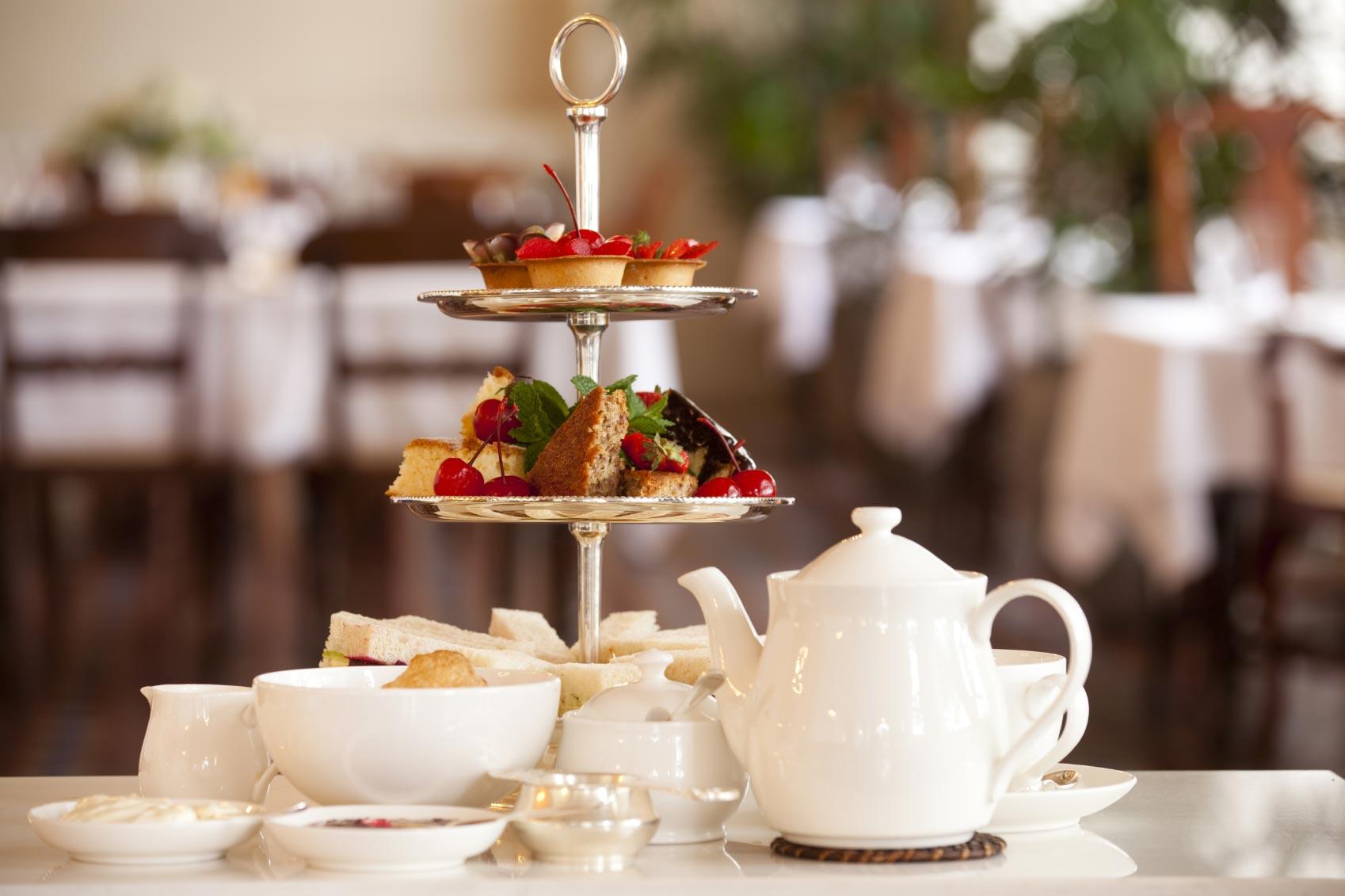 Prendre un fabuleux afternoon tea