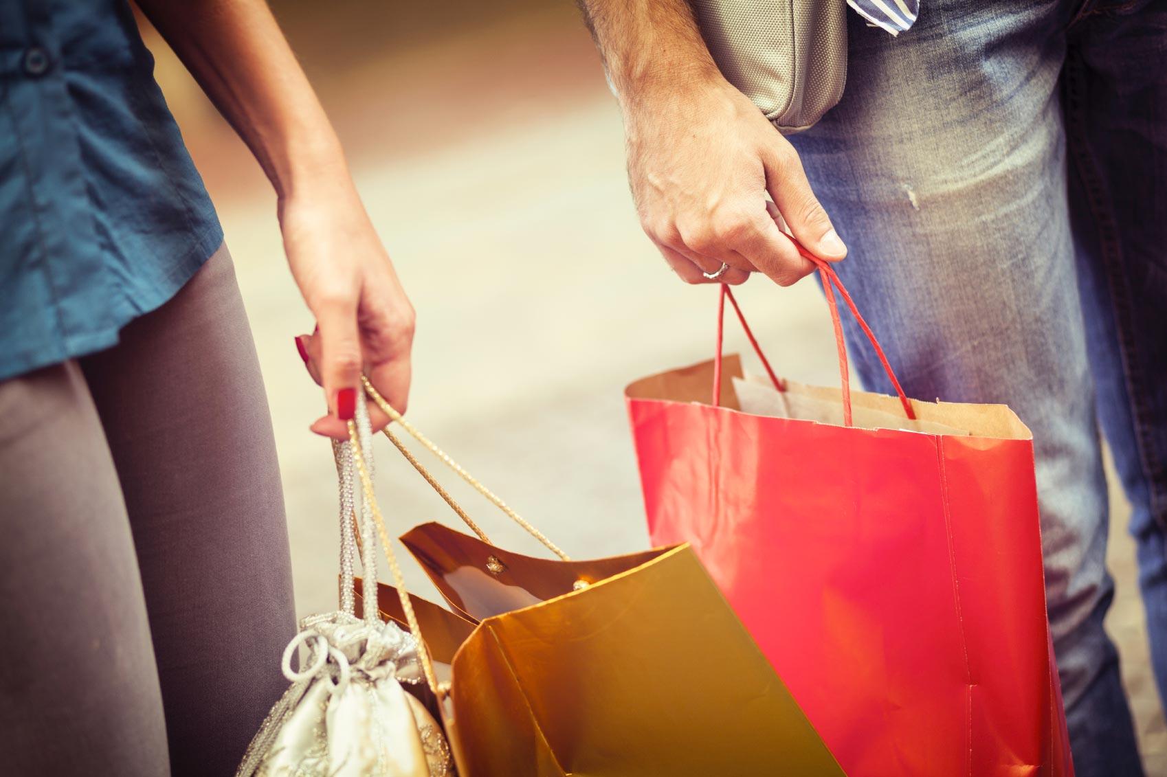 Shoppen gehen