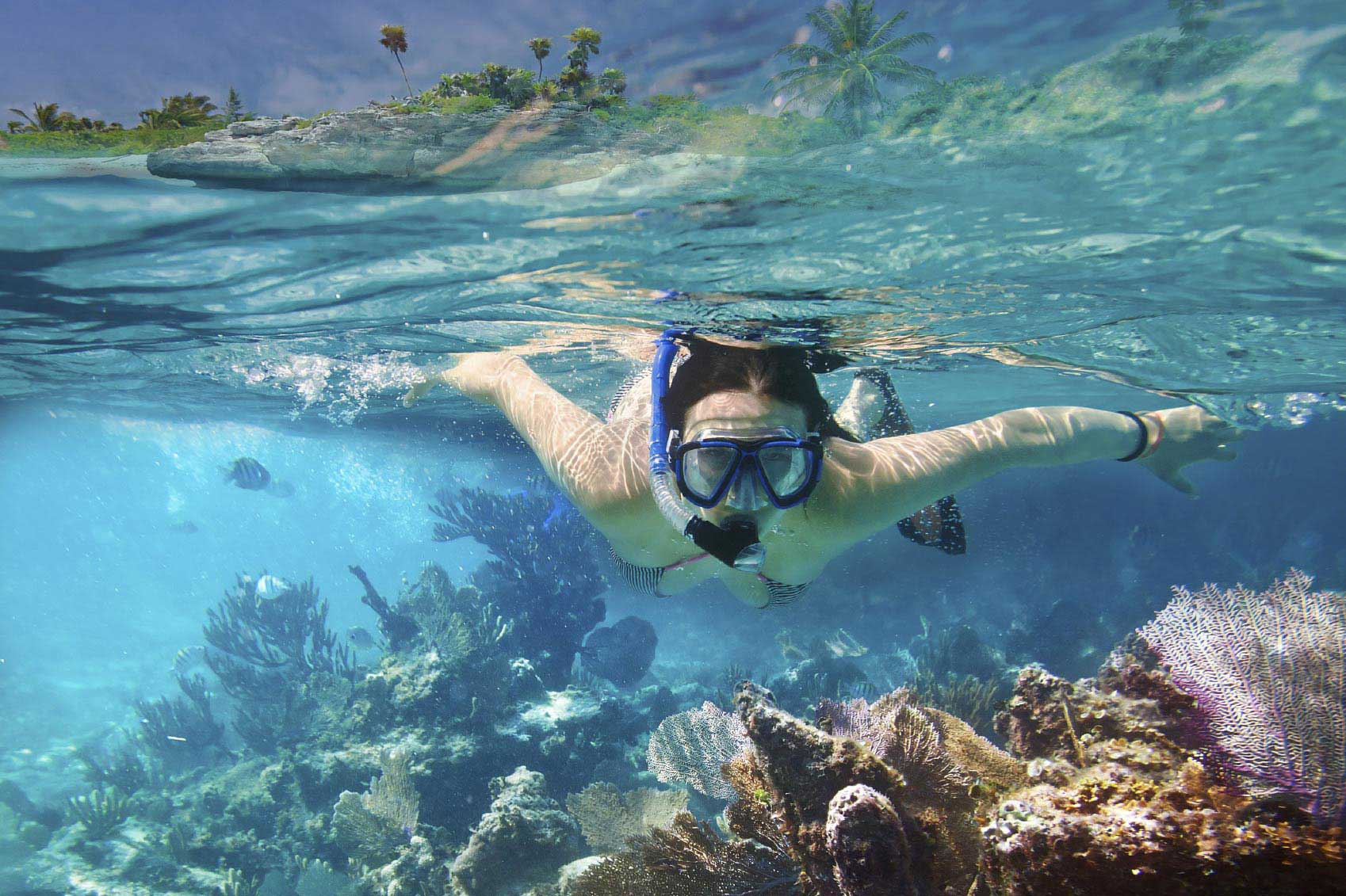 Fazer mergulho submarino