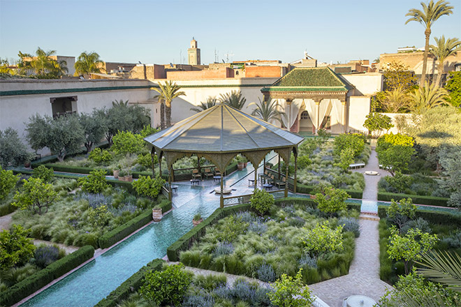 Jardin secret marrakech