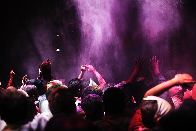 El Holi, festival hindú © Kares Leroy