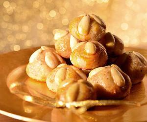 Kekse am Weihnachtsmarkt