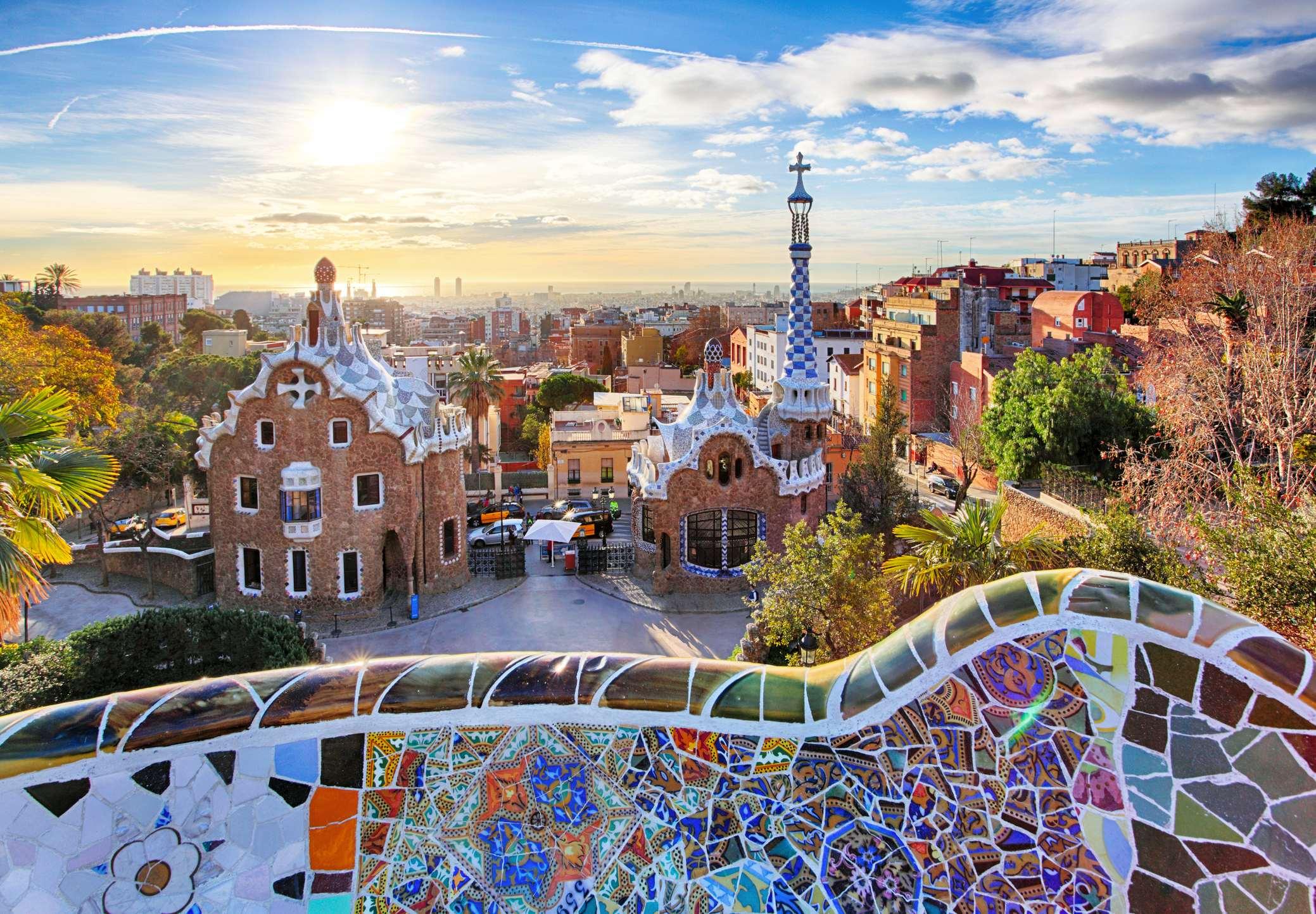 parc Guell de Barcelone
