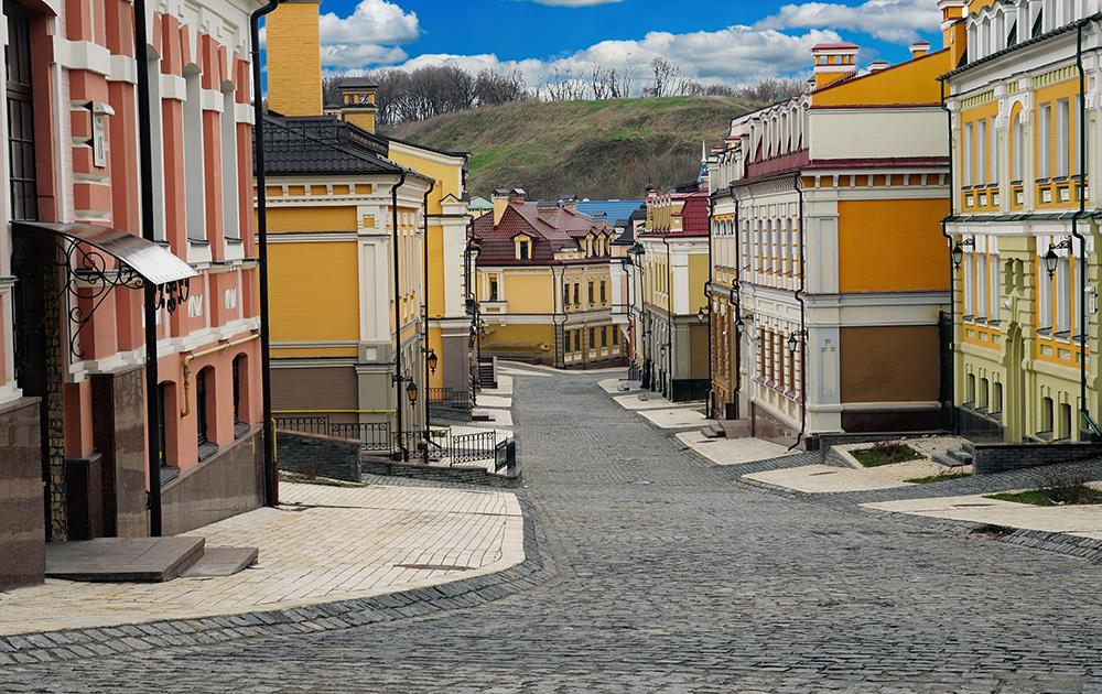 Улочки Киева