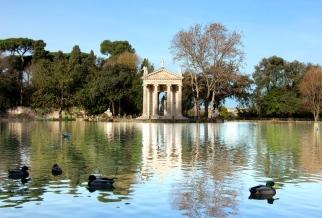 Lago Parco di Villa Borghese