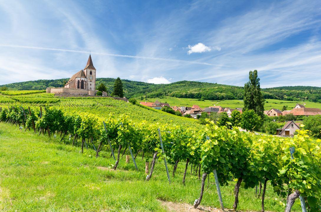 l'Alsace et la Lorraine