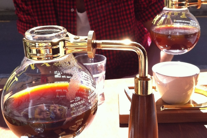 Siphoned Coffee At Lamason Brew Bar