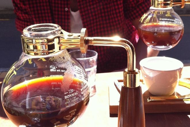 Siphoned Coffee At Lamason Brew Bar