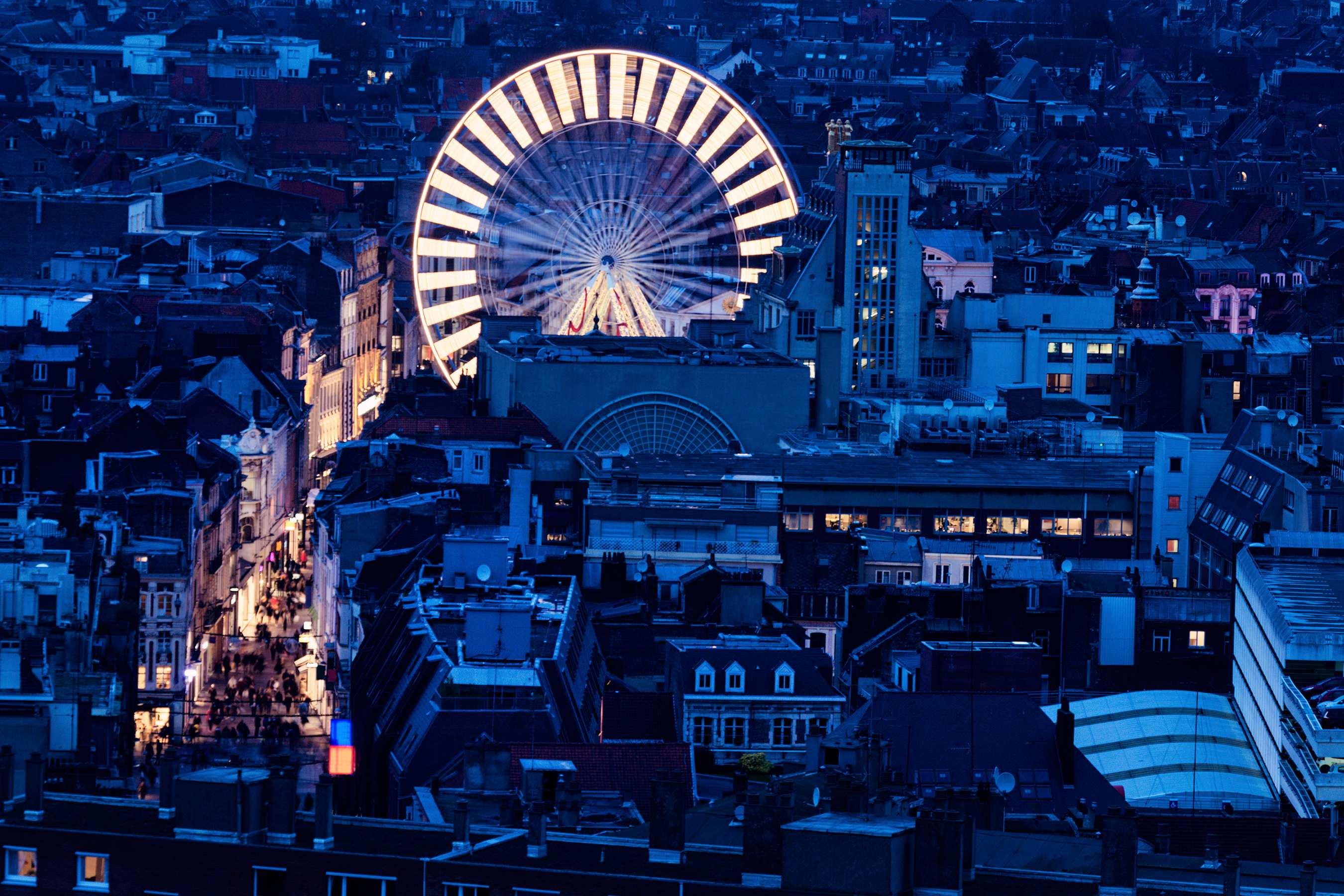 vue aérienne de Lille