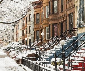 Listening to Christmas carols in New York
