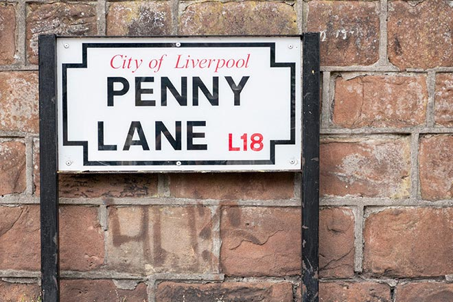 liverpool penny lane beatles