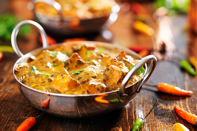 plat indien londres