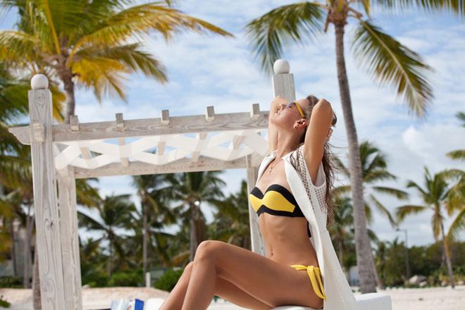 Lounge de barraca de praia (Fotos: Getty Images)