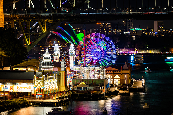 Take in the views from Luna Park's Ferris Wheel