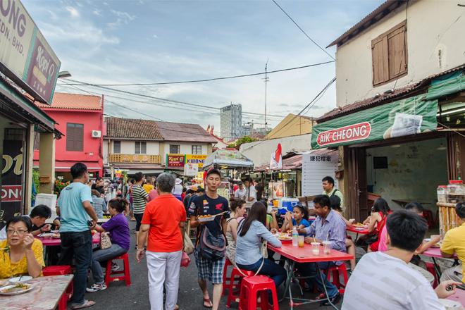 Malacca Malaysia Jonker Street