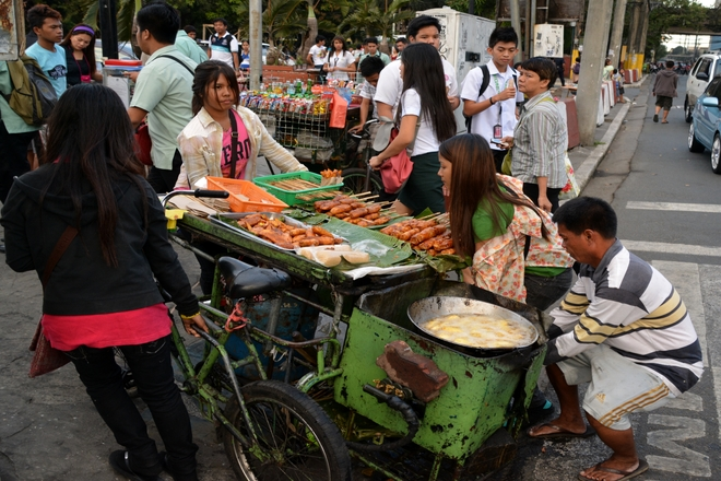 manila's street food