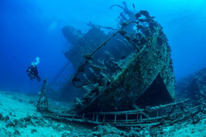 SS Thistlegorm, el buque hundido del Mar Rojo