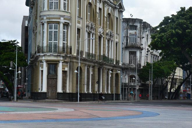 Marco Zero no Recife Antigo