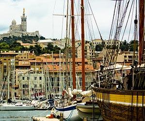 Im Velodrom von Marseille mitfiebern