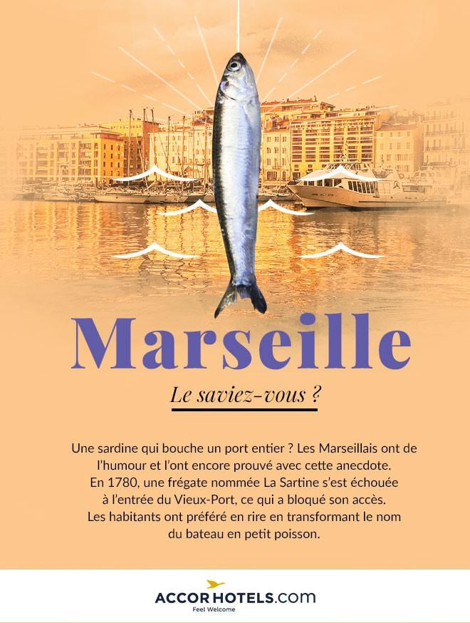 anecdote sardine port de marseille