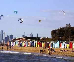 In Melbourne
