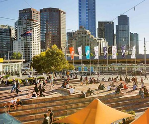 Head to Melbourne for a month full of entertainment