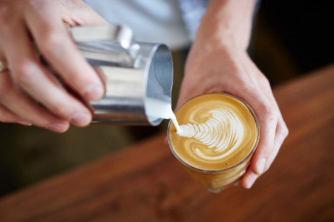 Coffee Art At Peoples Coffee Café