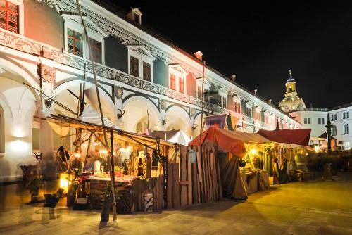 Mittelalterlicher Weihnachtsmarkt in Dresden
