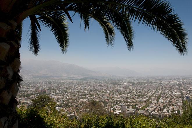 Vista do Morro San Cristóbal