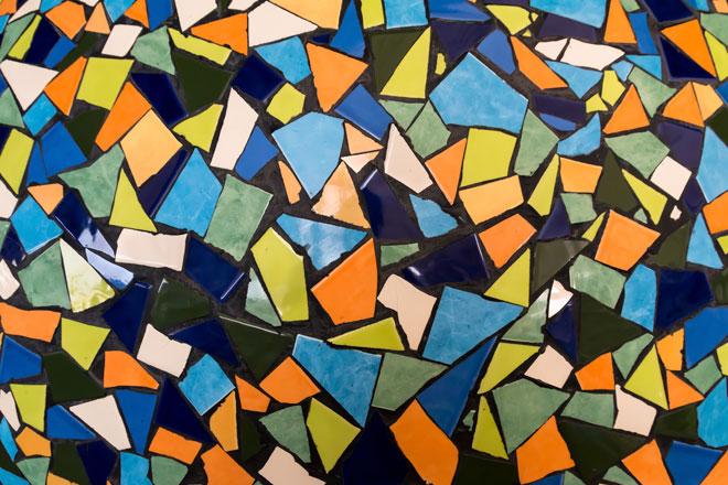 Mosaico de azulejo