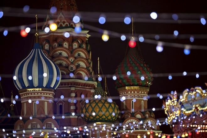 L'atmosfera calda e festosa di Mosca