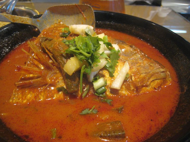 Muthu's Fish Head Curry