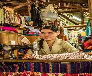 Exploring Markets in Yangon