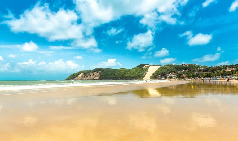 Praia de Ponta Negra, em Natal (Getty Images)