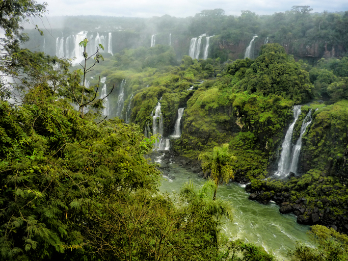 Natureza exuberante em Puerto Iguazu, Argentina
