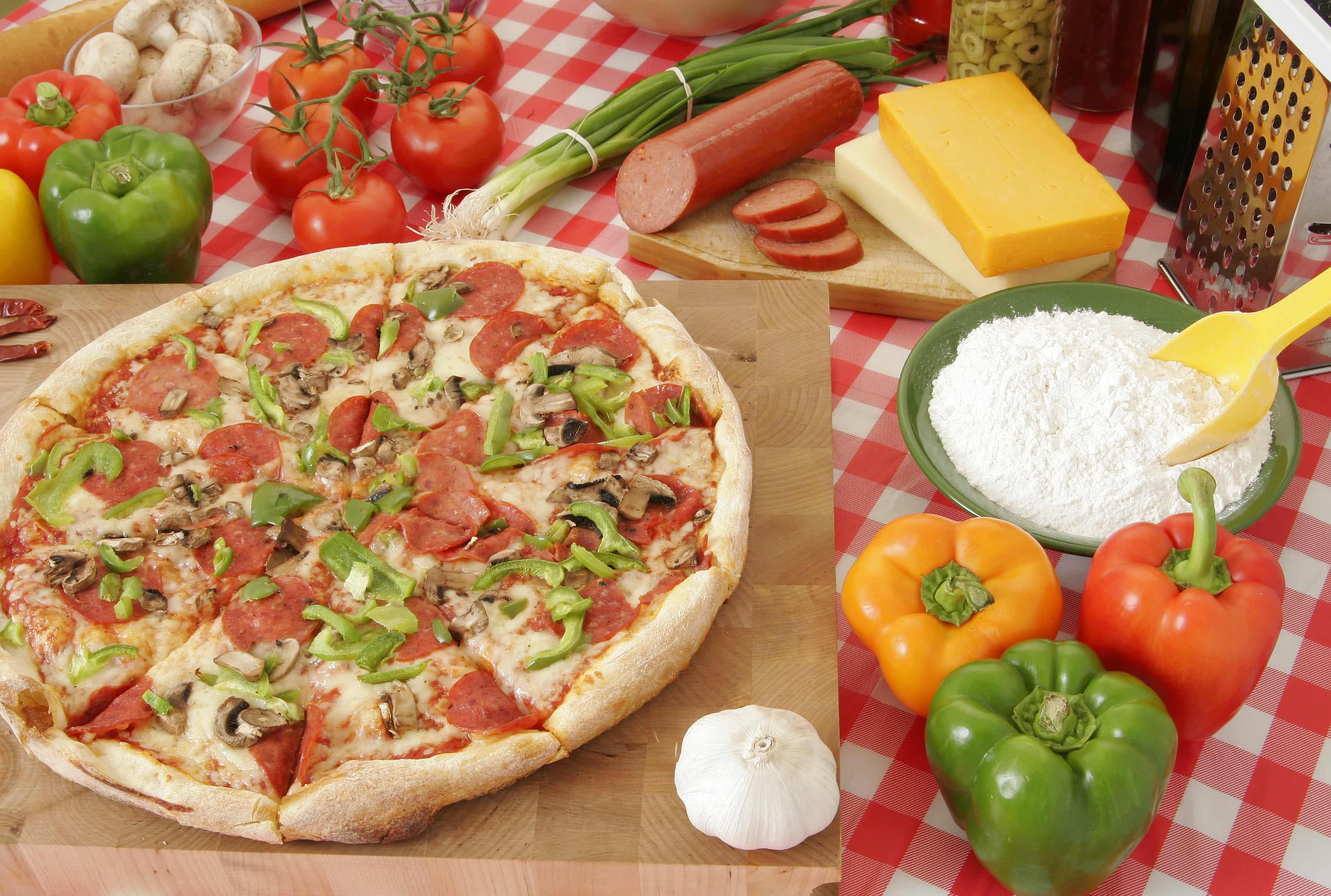 Pizza italienne niçoise
