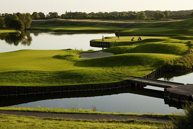El campo Real del Novotel Saint-Quentin Golf National