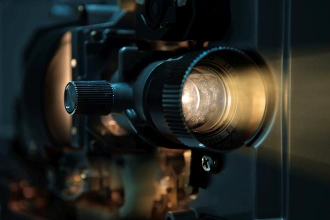 Old fashioned Proiettore cinematografico