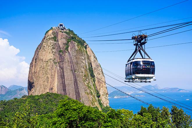 Teleférico no Pão de Açúcar (Foto: Getty Images)