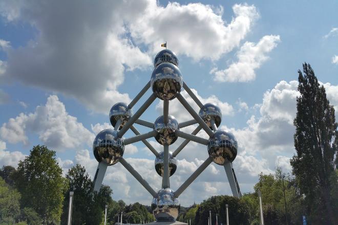 Atomium - het bekendste gebouw in Brussel