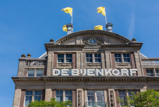 """Department store """"heaven"""" Bijenkorf"""