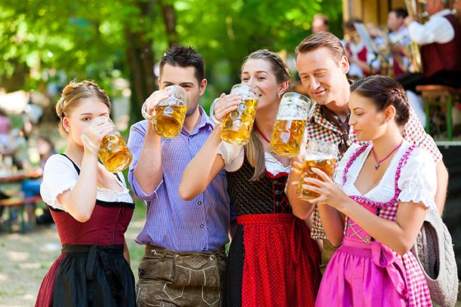 L'Oktoberfest la plus importante a lieu à Munich